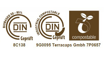 Compostable certificates