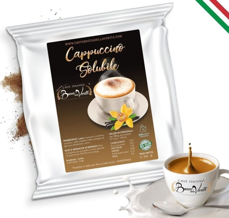 Cappuccino Soluble 500 gr